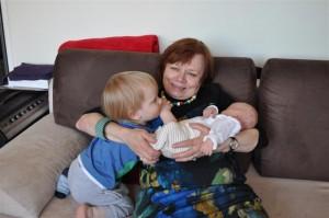 Ciocio - Babcia Myszka i jej siostrzeńco - wnuki