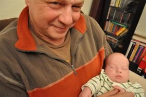 U Dziadka śpi się równie dobrze, jak u Mamy :)