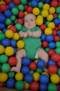 Pływam w piłkach