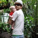 Straszna dżungla, ale Tata mnie przed wszystkim obroni!