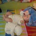 Staszek-fistaszek - zespół Downa - 7 miesięcy