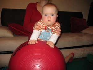 zespół Downa - Staszek-fistaszek - 8 miesięcy - Down syndrome