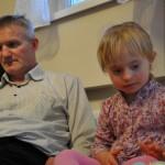 Tata Grzegorz z córką Anną Julcią