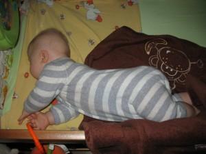 Staszek-Fistaszek podczas snu