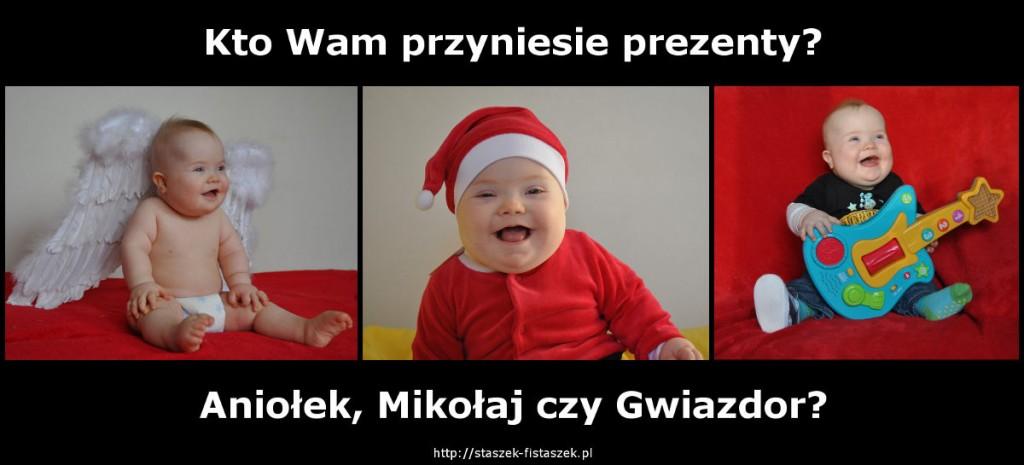 Staszek-Fistaszek - Aniołek, Mikołaj, czy Gwiazdor?