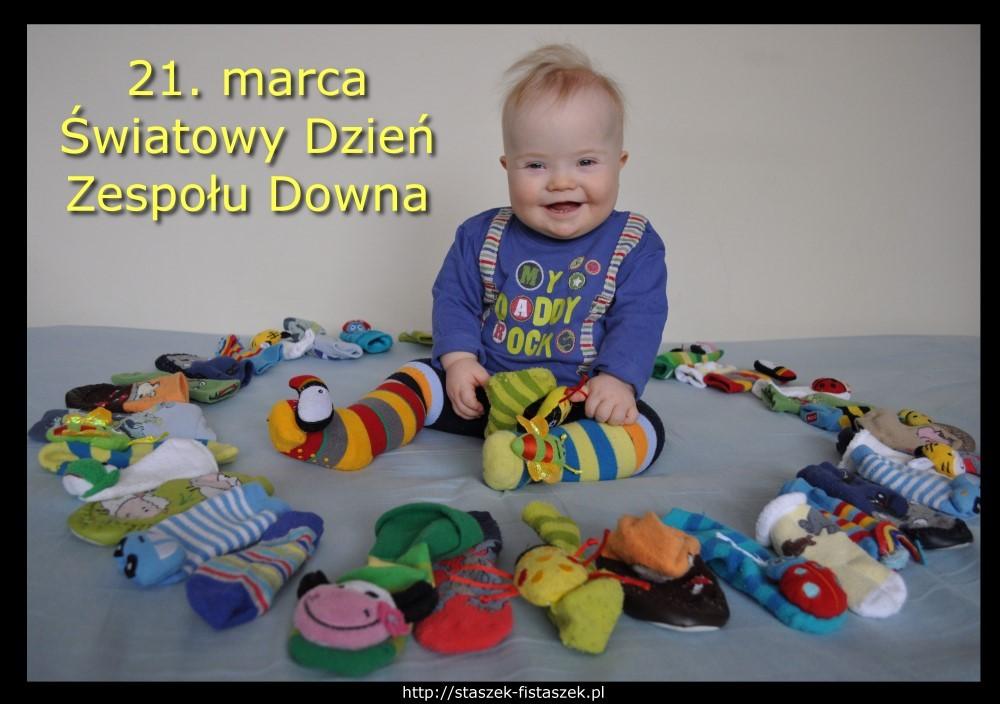 Światowy Dzień Zespołu Downa Staszek-Fistaszek