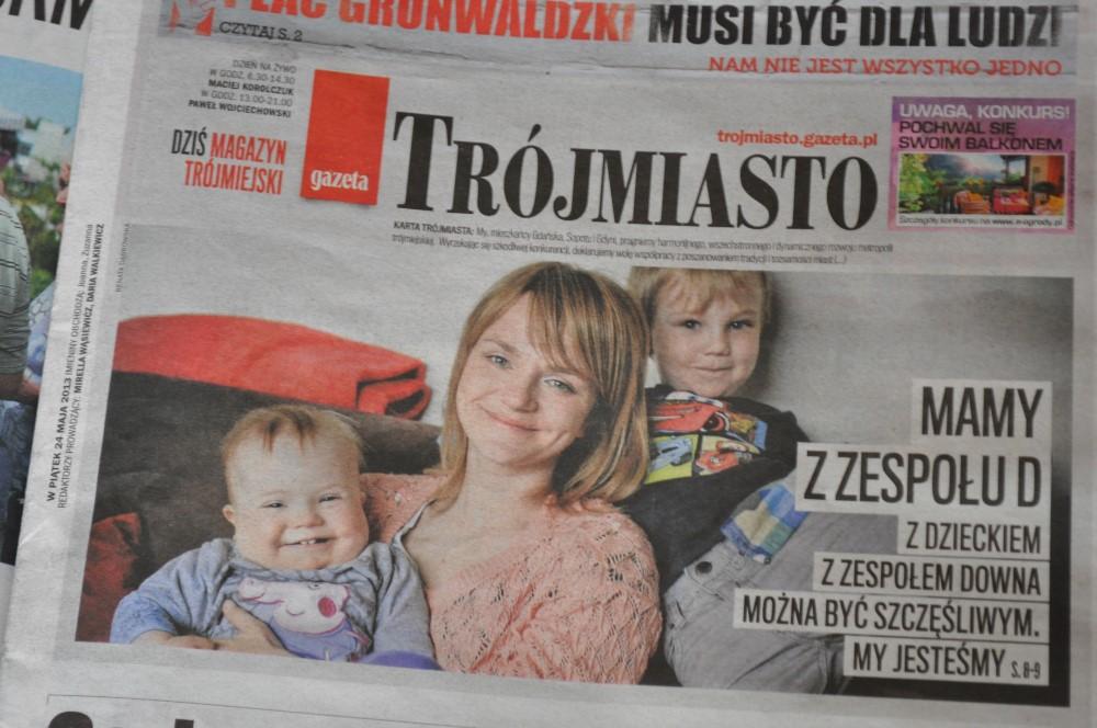 Mamy z zespołu d, Gazeta Wyborcza, Trójmiasto