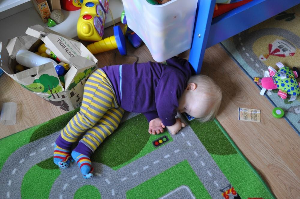 Staszek-Fistaszek, zespół Downa, 16 miesięcy