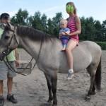 Hipoterapia, zespół Downa, 1,5 roku, 18 miesięcy, Staszek-Fistaszek