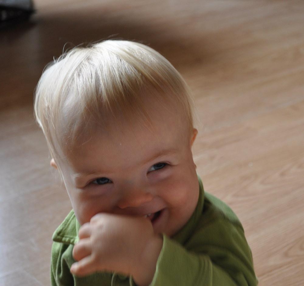 Staszek-Fistaszek, 19 miesięcy, zespół Downa