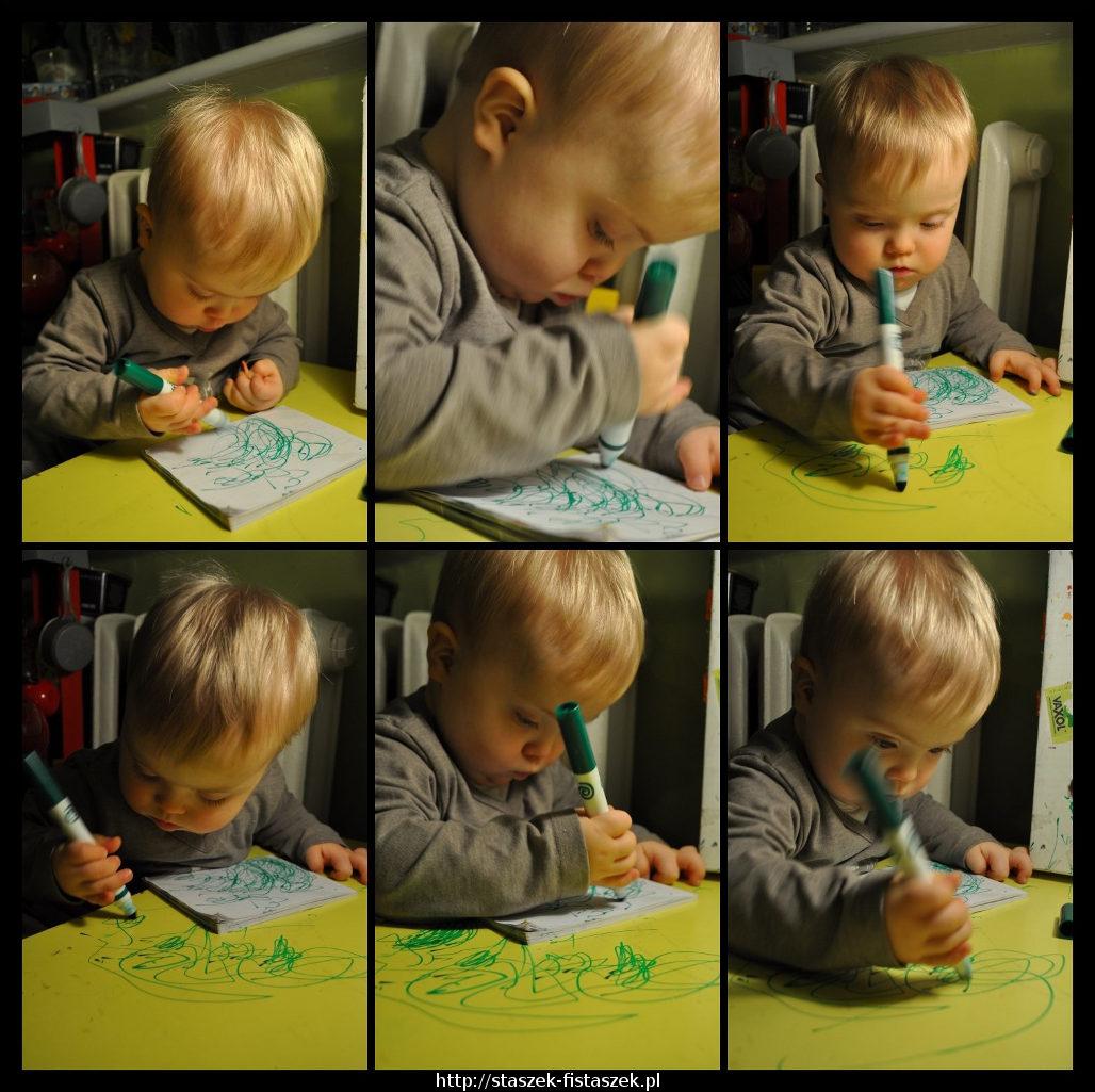 Mazu mazu po kartce i po stole