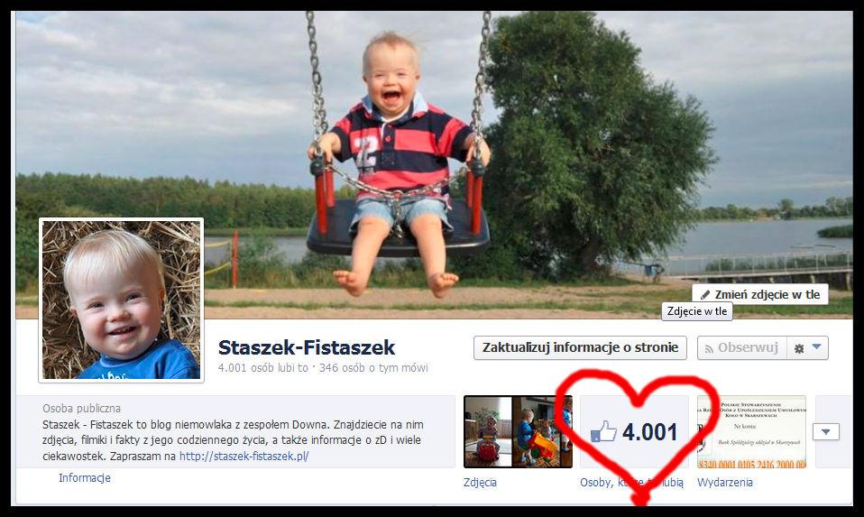 4001 fanów na fb