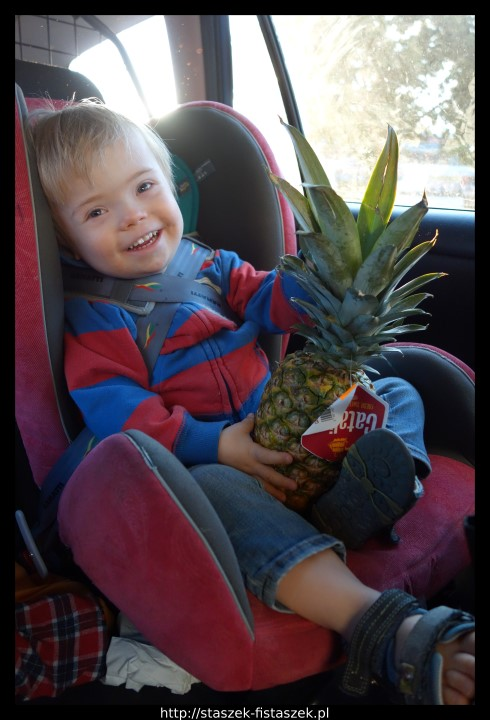 Staszek i ananas