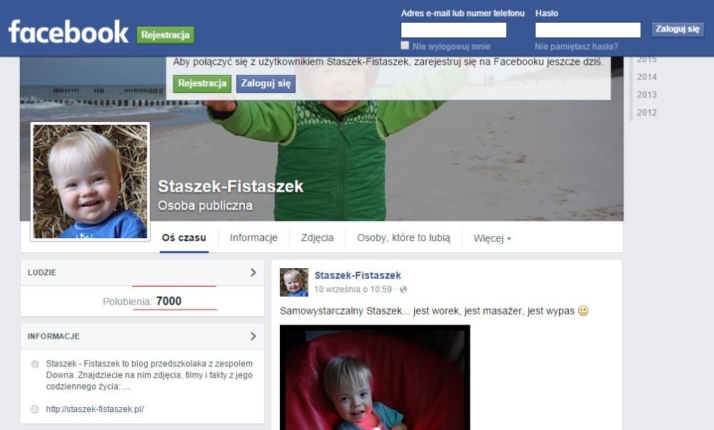 7000 fanów na fb